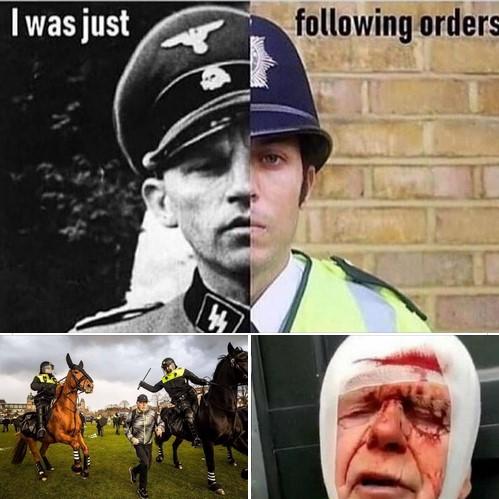 Ex (ME)-politieagente spreekt zich uit